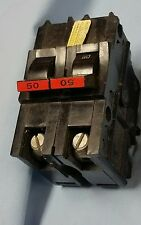 Federal Pacific   2 Pole  50 Amp  Circuit  Breaker NA250, See description