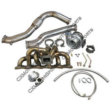 Turbo Manifold Downpipe GT35 Top Mount Kit For RB20 RB25 RB25DET 240Z 280Z
