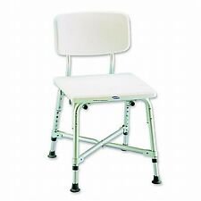 Invacare Bariatric Heavy Duty Bath Shower Bench Chair Seat Stool, INV97852