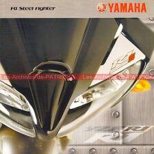 YAMAHA YZF 1000 R1 Steel Fighter Série limitée 2004 Brochure Publicité Pub Moto