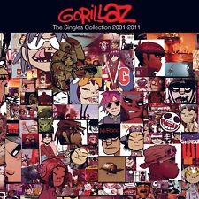 The Singles Collection 2001-2011 [CD/DVD] [PA] [Digipak] by Gorillaz (CD,...