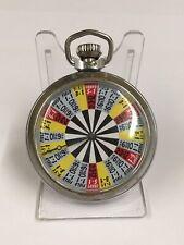 Vintage Smiths Pocket Gambling Gaming Watch Craps Working Plz Look 👀