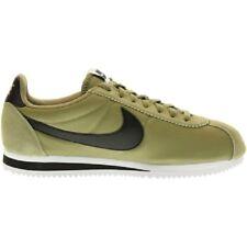 Hommes Nike Classique Cortez Nylon Bleu/jaune Baskets 807472 471 UK 7.5 / EUR 42