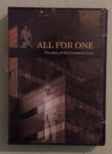 ALL FOR ONE THE STORY OF THE CLEVELAND CLINIC  DVD NEW  small shrinkwrap tears