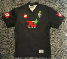 More details for size (m-l) juventus 2001-2002 champions league away football shirt jersey lotto