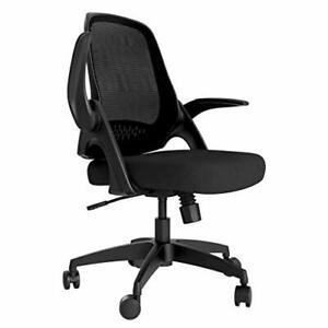 Hbada Bürostuhl Ergonomischer Schreibtischstuhl Arbeitsstuhl Drehstuhl mit kl...