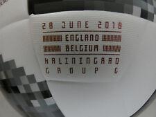 England - Belgien Adidas Telstar Matchball Top Replique WM Inprint Aufdruck