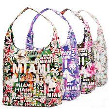 Women's Canvas Tote Shoulder Handbag Travel Shopping Beach Pool Bag New