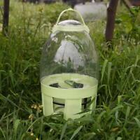 Clear Pet Drinker Pigeons Birds Water Pot Container Dispenser Feeding Supplies