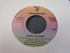 Bjorn & Benny Merry Go Round / People Need Love 45 RPM 1972 Playboy EX Abba