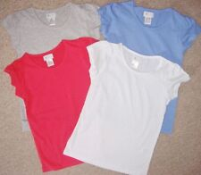 Scoop Neck Patternless T-Shirts (2-16 Years) for Girls