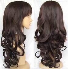 HE-J1088 Long new style brown wavy hair women wigs for women wig