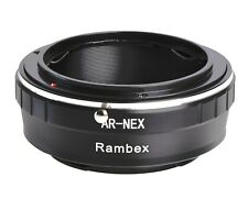 RAMBEX Konica Auto-Reflex AR Lens to Sony E mount Adapter Converter for A6400 A7
