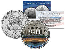 WORLD TRADE CENTER * 16th Anniversary * 2017 JFK Half Dollar U.S. Coin 9/11 WTC