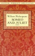 Romeo and Juliet (Dover Thrift Editions), William Shakespeare, New Book