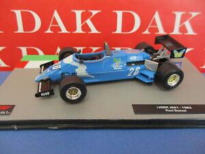 Die cast 1/43 Modellino Auto F1 Ligier JS21 1983 R. Boesel