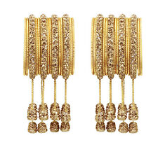 US Indian Latken Bangles Designer Traditional Bangle Set Pakistani Kada Jewelry