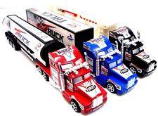 3 Pcs Die Cast Lorry Set Kids Lorrys Childrens Toy Cars Friction Power Truck Set