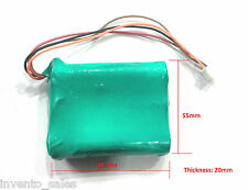12V 1800 mAh Polymer Li-ion rechargeable battery For GPS iPod Tablet PC Drones
