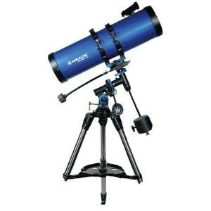 "Meade Polaris 130mm (5.1"") 650mm f/5.0 German Equatorial Reflector Telescope"