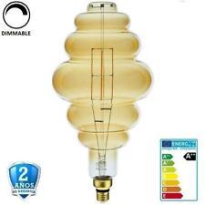 "Bombilla Led E27 8W BD200 700lm 300º 1800K Cristal ""Oro"" Regulable (Dimmable)"