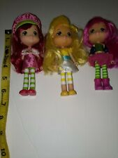 Strawberry Shortcake 6� Doll 2008 Hasbro Lot of 3