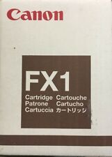 Canon FX-1 Black Toner Cartridge Genuine New Old Stock 1551A002AA