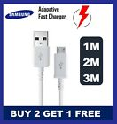 Samsung Galaxy S3 S4 S5 S6 S7edgePLUS  S8 S9 S10 Fast Charger USB Cable 1M 2M 3M