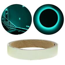 Glow In The Dark Luminous Fluorescent Night Self-adhesive Safety Sticker Tape SS