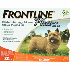 FRONTLINE Plus for 5 to 22 Pounds Dogs - 6 Doses please read description (sale)