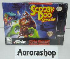 SNES Super Nintendo Spiel Scooby Doo Mystery / US-Version / neu+ovp in Folie