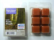 Better Homes & Garden 2.5 oz Warm Rustic Woods Wax Cubes (2 Pack) FREE SHIP!!