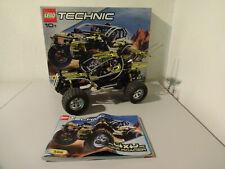 (GO) LEGO TECHNIC 8466 4x4 Off-Roader  MIT OVP & BA 100% KOMPLETT GEBRAUCHT