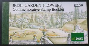 IRELAND: 1990 IRISH GARDEN FLOWERS BOOKLET FIRST DAY PICTORIAL CDS SG SB36