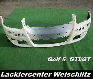 VW Golf 5 GTI/GT STOßSTANGE VORN LACKIERT + WUNSCHFARBE NEU