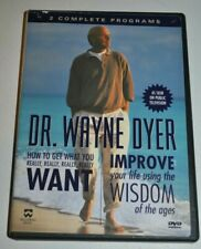 Dr. Wayne Dyer DVD How to Get What You Really Want & Improve Life Using Wisdom