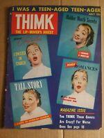 Thimk magazine  VOL 1 #2 July 1958  Mad Magazine Imitator  COUNTERPOINT PUB.
