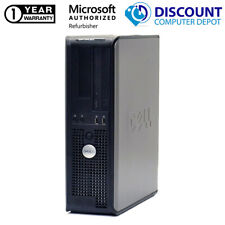 Dell Desktop Computer Intel Core 2 Duo Windows 10 Home 8Gb 250Gb Hd Dvd Wifi