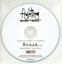 (557J) Fighting With Wire, Sugar - DJ CD