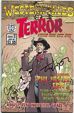 Western Tales of Terror 2 Hoarse and Buggy 2005 VF NM Signed Fialkov Livingston