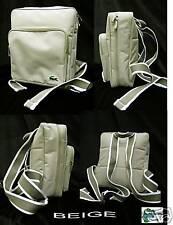 LACOSTE Backpack  Rucksack Bag  Light Beige Casual 2.12 **
