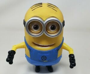 """Despicable Me Minion Dave Talking Laughing 8"""" Action Figure Thinkway Toys Works"""