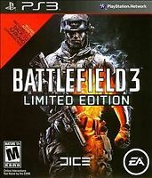 Battlefield 3 Limited Edition Sony PlayStation 3 PS3 Game EA