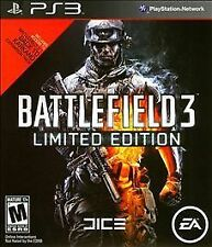 Battlefield 3 -- Limited Edition (Sony PlayStation 3, 2011)VG