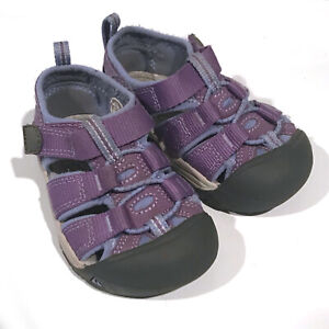 KEEN Toddler Girls Purple Waterproof Sport Sandals Size 5