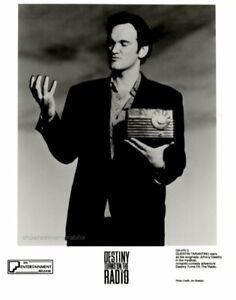 DESTINY TURNS ON THE RADIO Original 1995 UK cinema stills Quentin Tarantino