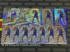 2020/21 Panini Revolution Rookie Obi Toppin Fractal Astro Groove Lot 12