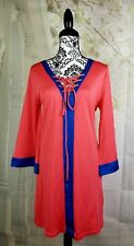 JG Knitwear womens dress 3/4 bell sleeve luxury jersey knit silk blend size m b5
