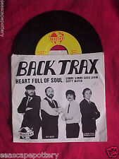 Heart Full Soul,Good Lovin, Dirty Water -Back Trax 45 rpm record w/ photo jacket