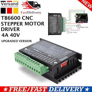 TB6600 Nema 17 Stepper Motor Driver 4A 2/4 Phase Schrittmotor Treiber Controller